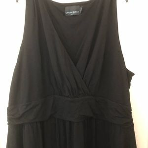 Cynthia Rowley Dresses - Black summer dress. EUC. Size 3X Great for summer